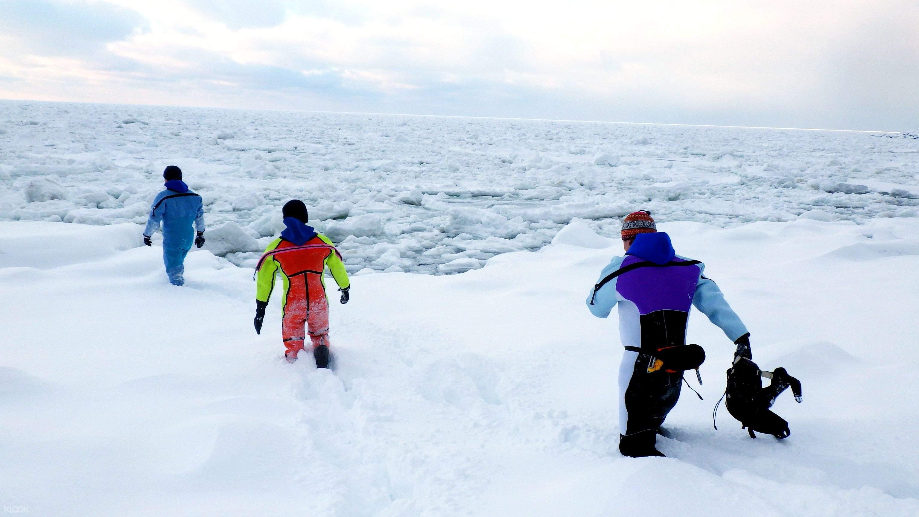 日本北海道知床冬季戶外活動