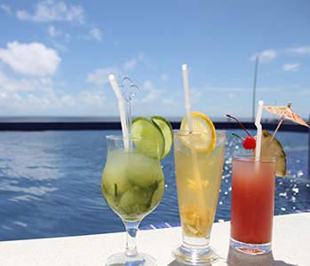 Azure Sky Lounge & Bar with infinity pool