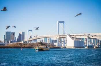 东京拼车游览台场海滨公园