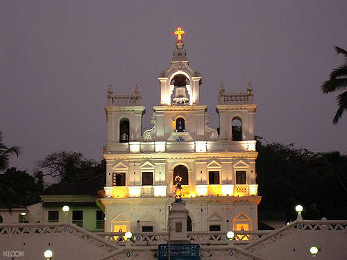 印度 果阿邦徒步之旅 帕纳吉教堂