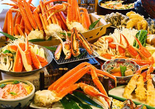 冬季螃蟹吃到饱 & 足利花卉公园彩灯秀 & 草莓采摘巴士一日游