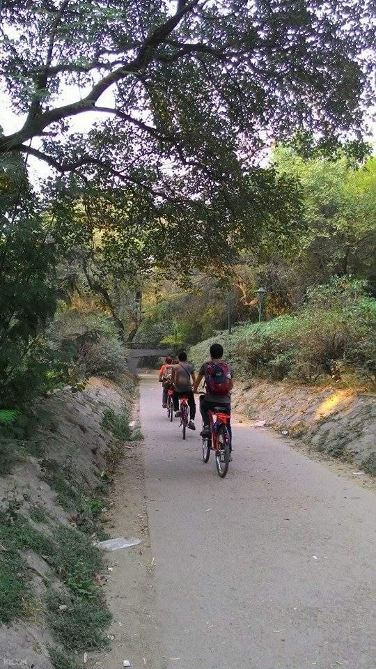 nizamuddin cycling tour delhi