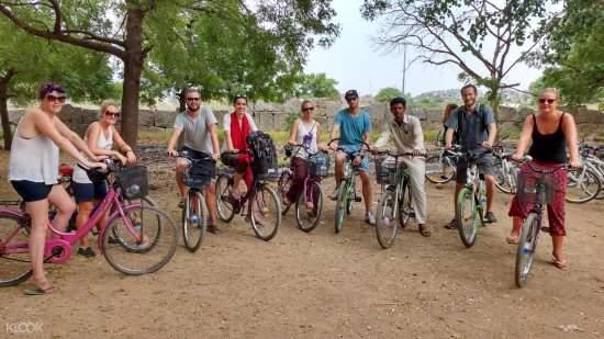 hampi bicycle half day tour