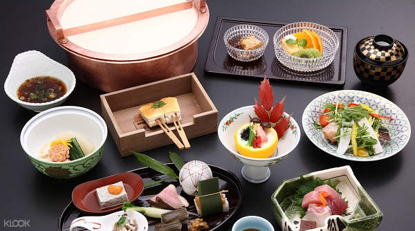Yudofu Meal or Yuba Kaiseki