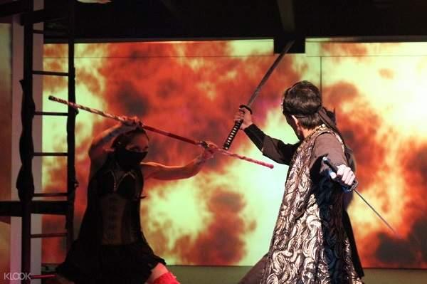 Ninja Kyoto Restaurant & Labyrinth Dining Theater