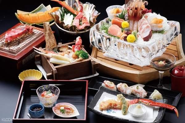 Hyousetsu No Mon Crab Course Meal