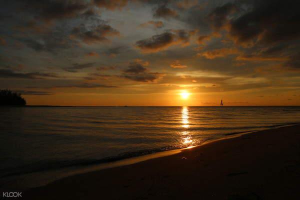沙比岛夕阳