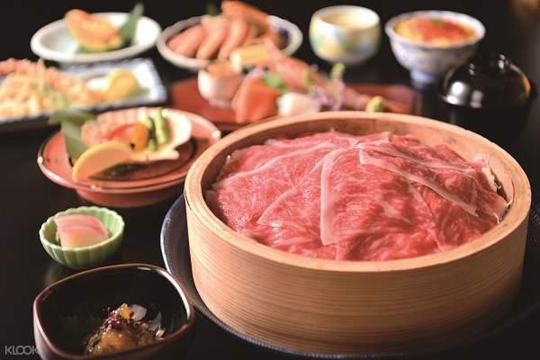 Hanayuzen Restaurant full course meal