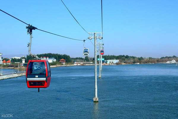 滇池风景区缆车