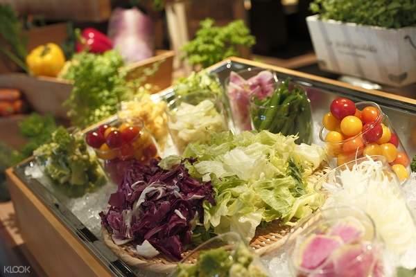 京都塔酒店塔涼台自助晚餐