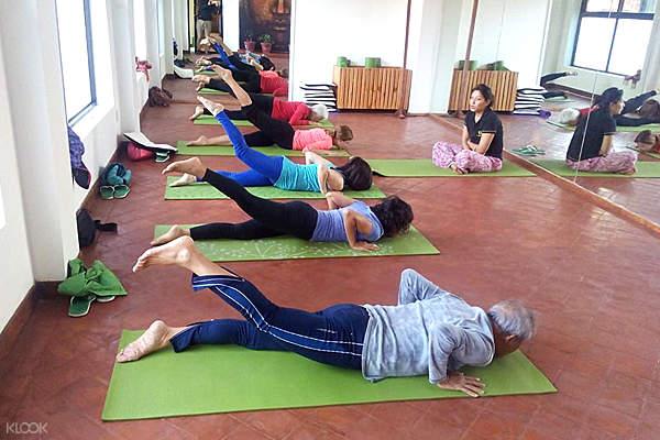 mandala studio yoga session