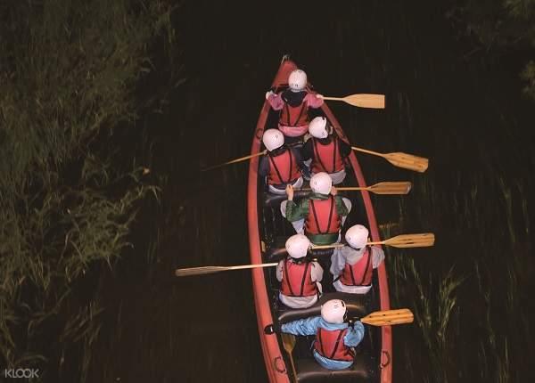 十勝帶廣川夜遊船體驗