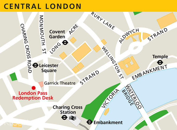 London Pass Attractions Map.London Pass With 1 Day Hop On Hop Off Bus Tour