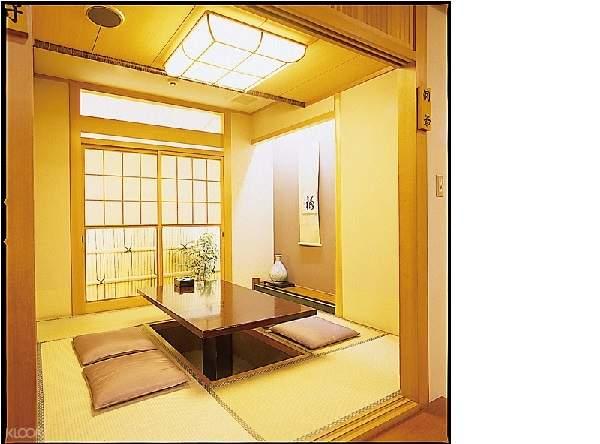Tatami room in Hyousetsu No Mon