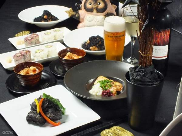 Ninja Kyoto Restaurant & Labyrinth food