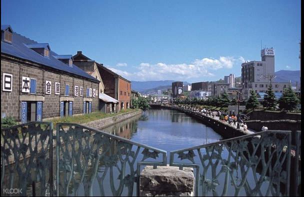 北海道最具代表性的景點 - 小樽運河