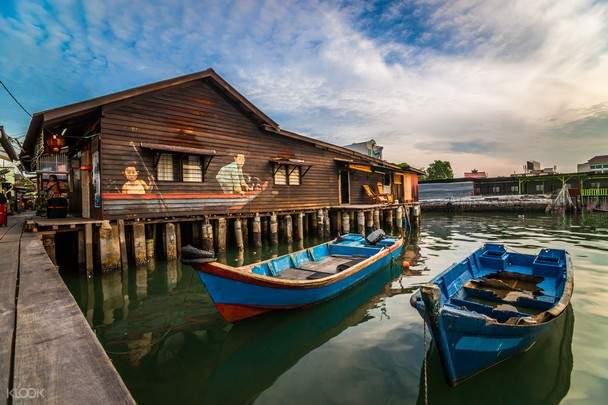 boat in penang
