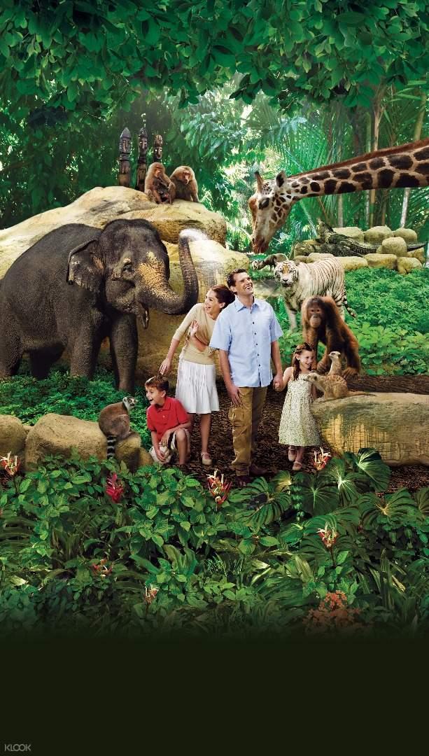 新加坡野生动物保护区(Wildlife Reserves)商店优惠券