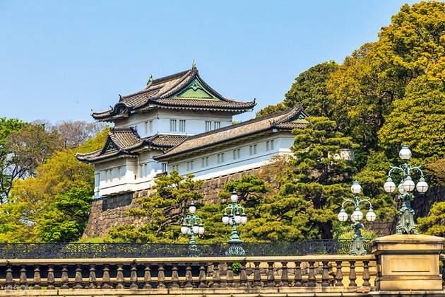 东京拼车游览皇居