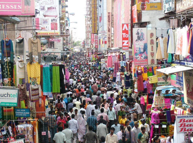 T. Nagar Chennai Shopping Tour