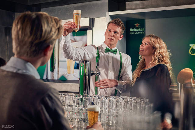 海尼根啤酒博物館門票