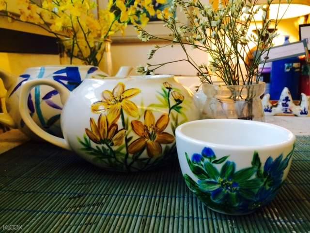 茶壺自由彩繪