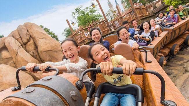 Shanghai disney rides