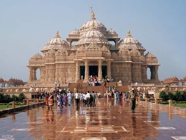 阿克萨达姆神庙 斯瓦米纳拉扬神庙 Shri Swaminarayan Mandir