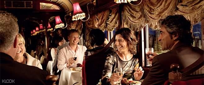 墨尔本殖民时代电车餐厅