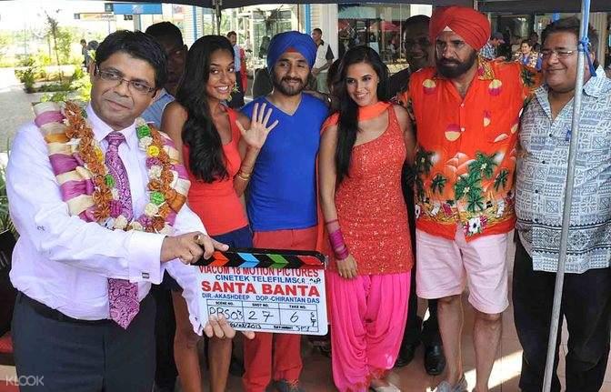 孟買Cine Classic工作室現場拍攝參觀之旅