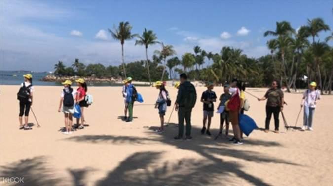 Sentosa Siloso Beach Tour