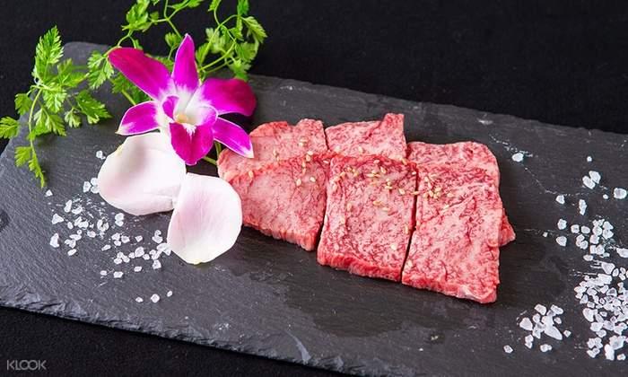 華道和牛,難波燒肉,難波和牛