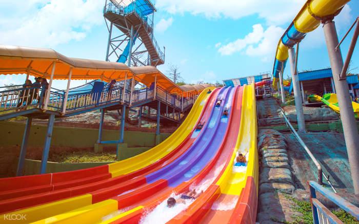 imagica water park open body slides
