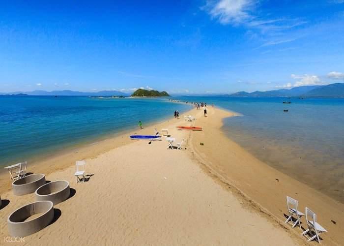 Khám phá lối đi dưới nước dài 700m nối 3 hòn đảo trong quần đảo Điệp Sơn