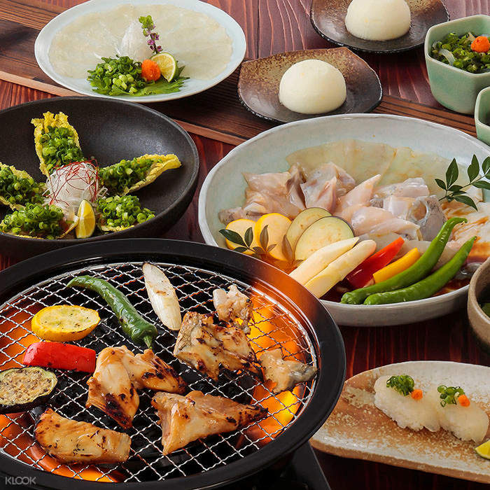 guenpin fugu restaurant osaka japan