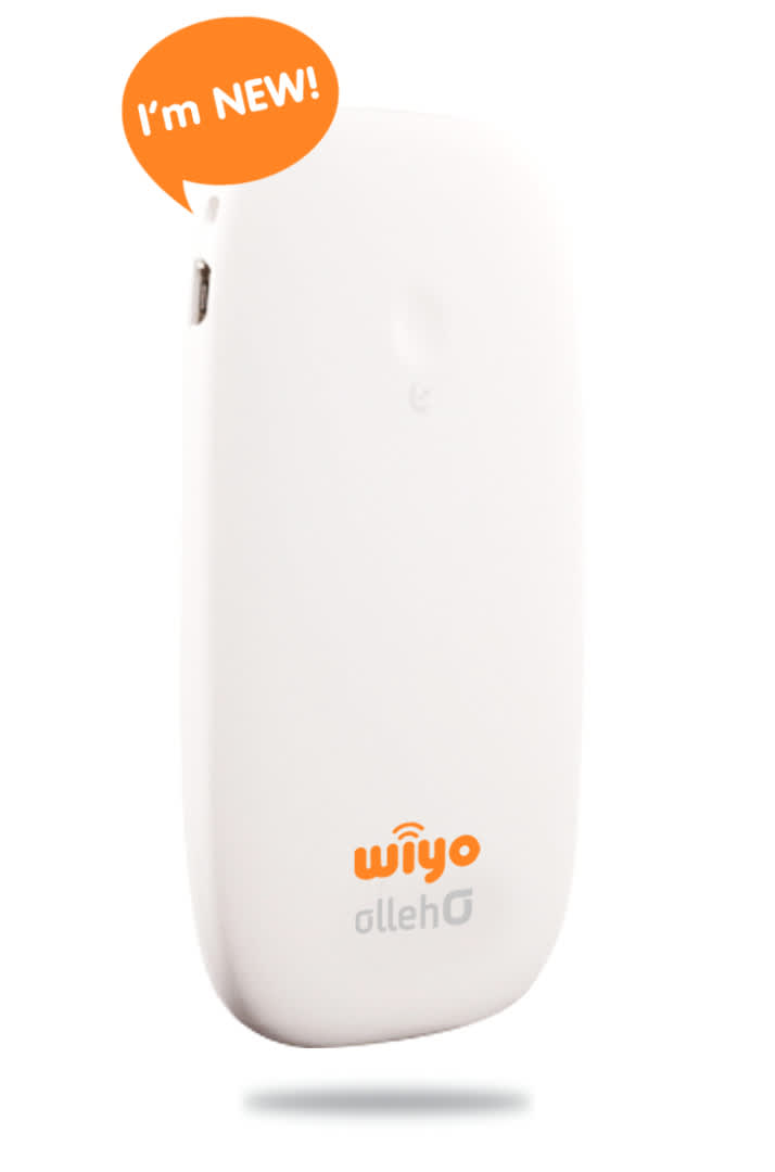 wifi device from wiyo for korea