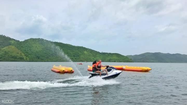 jet ski clear kayak experience coron island palawan