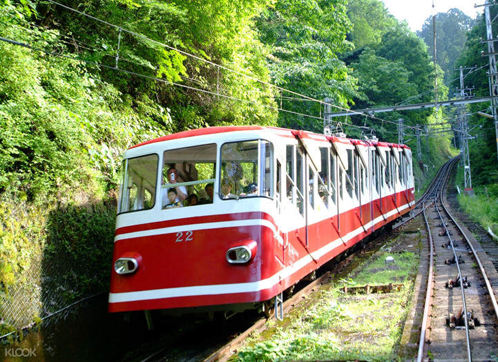 Cable Car for Mount Koya