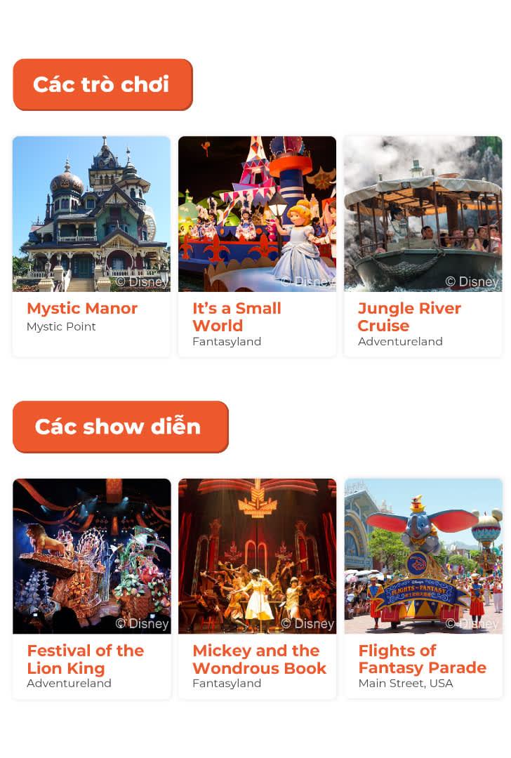 top attractions in hong kong disneyland