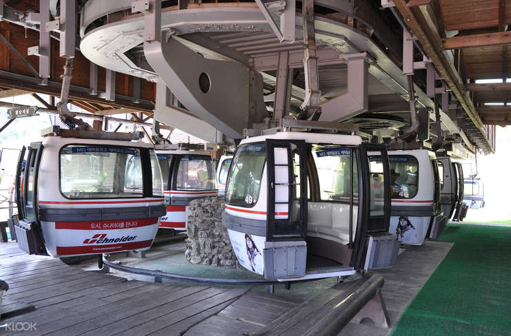 cable car in deogyusan national park