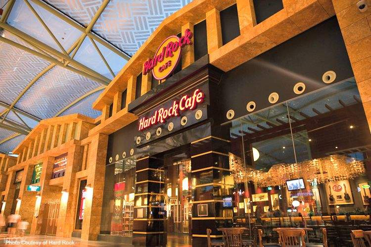 Spend your SG55 city pass at Hard Rock Cafe or House on the Moon bar