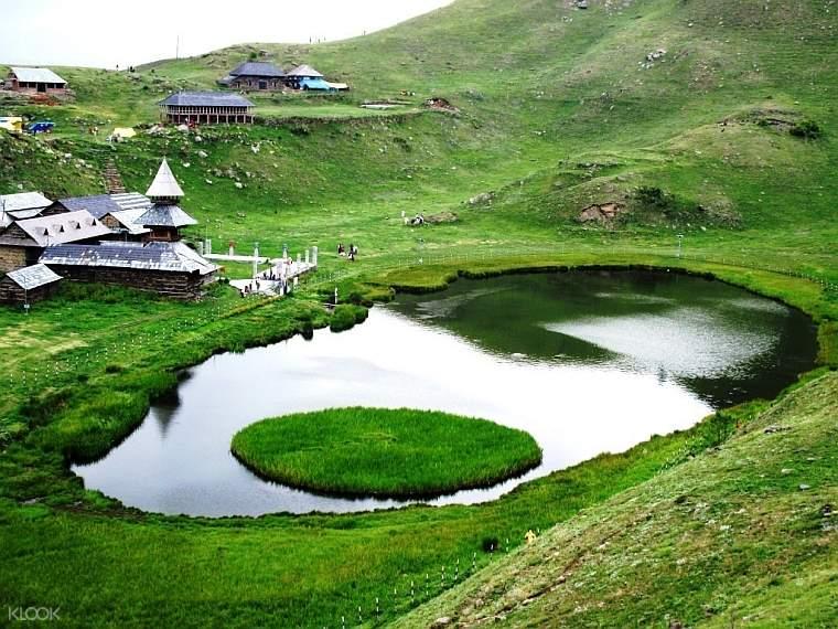 马恩迪出发 两天一夜Prashar湖徒步之旅