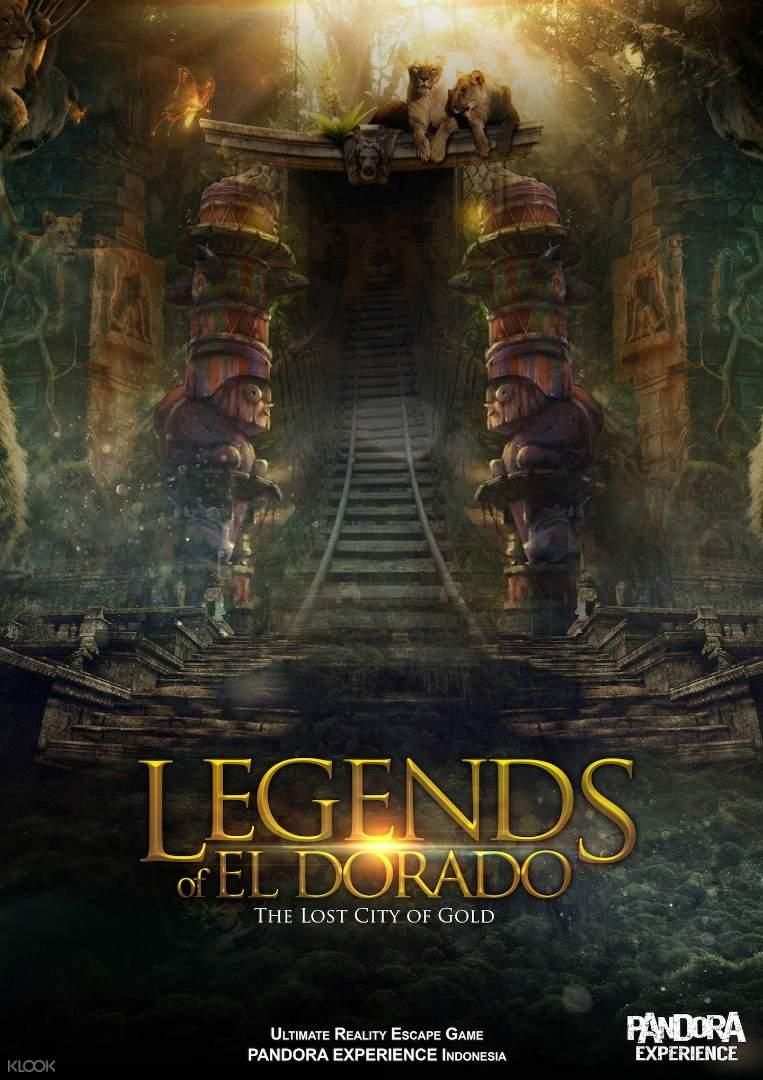 El Dorado poster Pandora Escape Room Bali