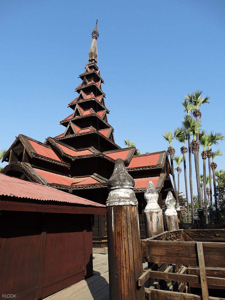 bargaya monastery sagaing
