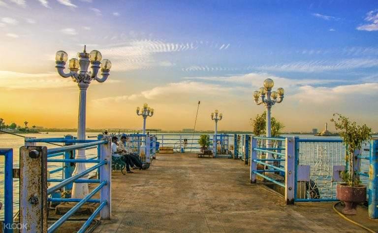 印度 海得拉巴 侯賽因薩加爾湖Hussain Sagar Lake