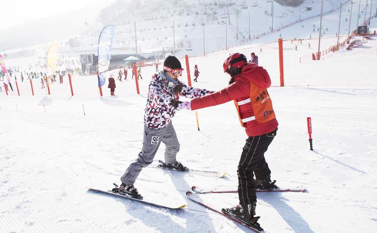phoenix park ski resort gangwon-do bus