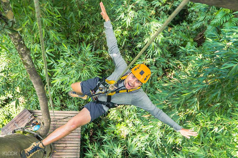 zipline sky line adventure