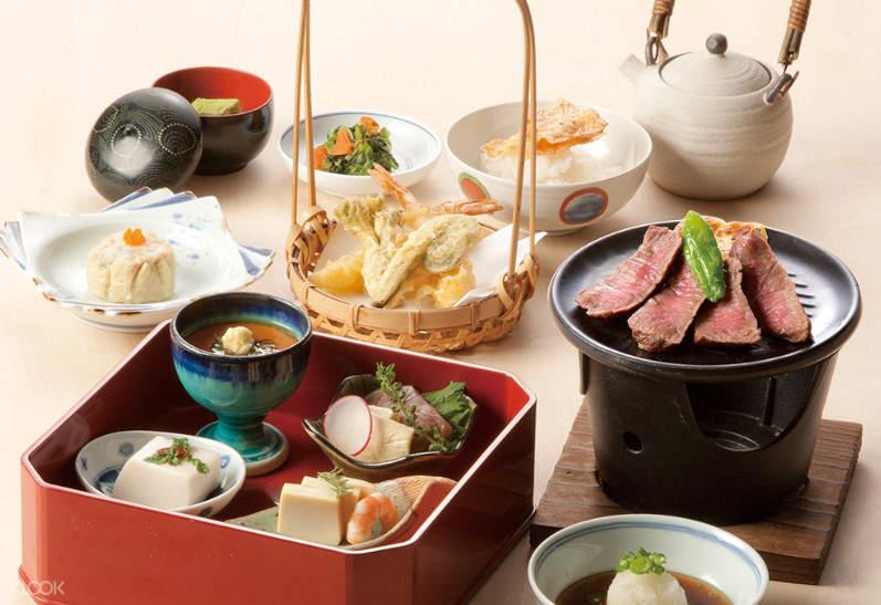 kaiseki meal kioicho kichiza shinjuku tokyo japan