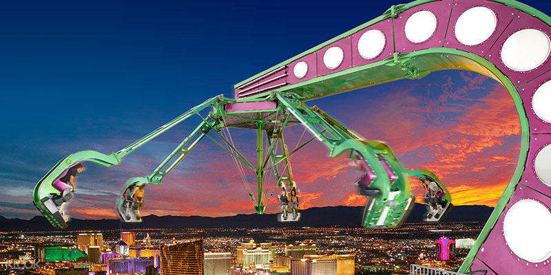 Insanity at the Stratosphere Hotel and Casino