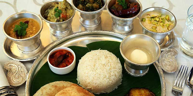 加爾各答當地孟加拉式料理